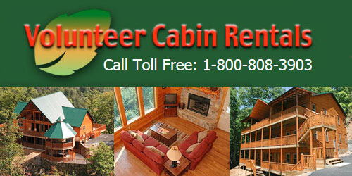 Ad - Volunteer Cabin Rentals: Click for website
