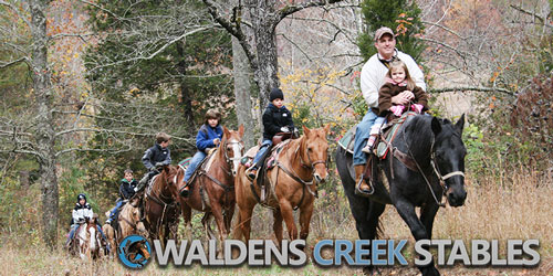 best horseback riding in pigeon forge