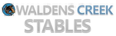 Walden's Creek Riding Stables logo