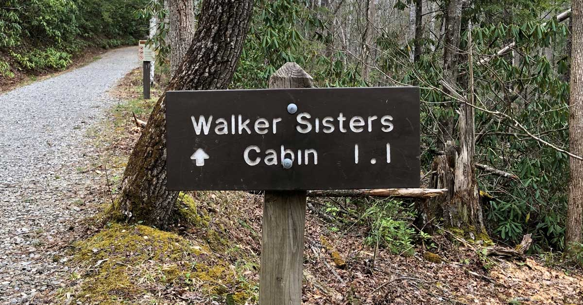 Walker Sisters Cabin: Click to read more.