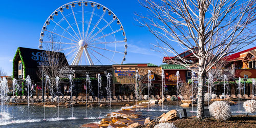 The Island Pigeon Forge: Click to visit page.