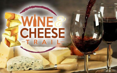Wine & Cheese Trail: Click for event info