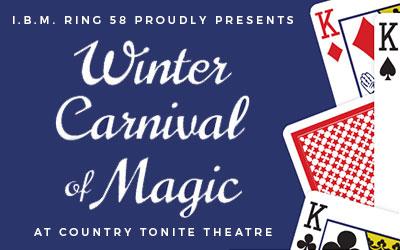 Winter Carnival of Magic: Click for event info.