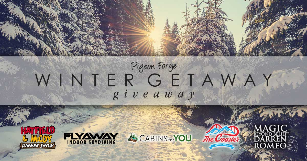pigeon forge giveaway