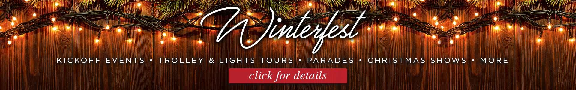 Smoky Mountain Winterfest Celebration: Click to visit page.