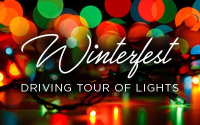 Winterfest Driving Tour Of Lights: Click for event info.