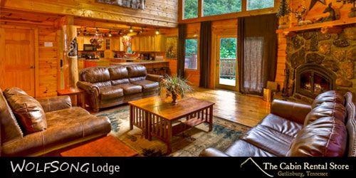 Wolfsong Lodge: Click to visit website.