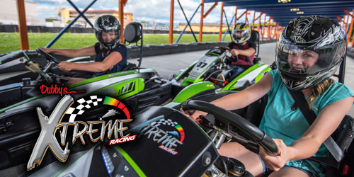 Ad - Xtreme Racing Center: Click to visit website
